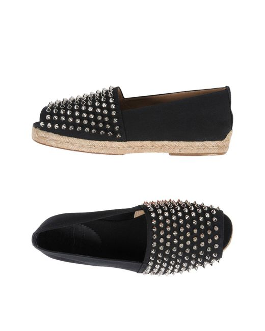 Christian Louboutin - Black Espadrillas for Men - Lyst