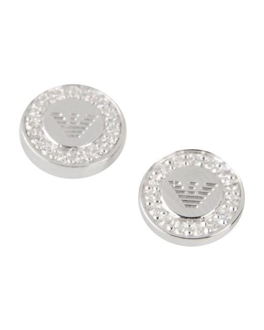 Emporio Armani | Metallic Earrings | Lyst