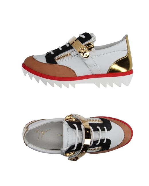 Giuseppe Zanotti - White Low-tops & Trainers - Lyst