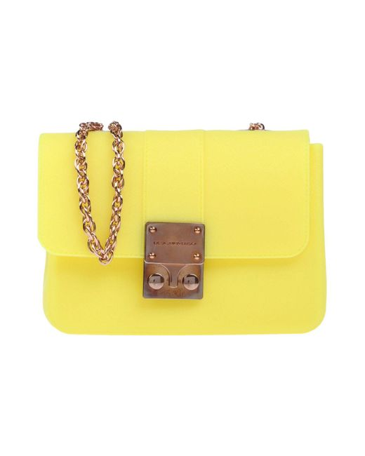 Designinverso - Yellow Cross-body Bags - Lyst