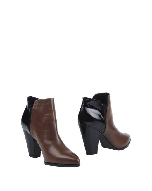 Lella Baldi - Multicolor Ankle Boots - Lyst
