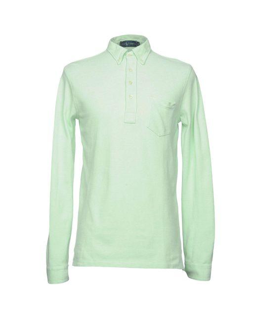 Ralph Lauren - Green Polo Shirt for Men - Lyst