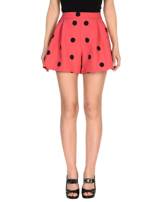 Boutique Moschino - Pink Mini Skirt - Lyst