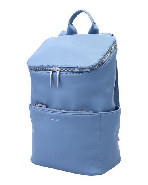 Matt & Nat - Blue Backpacks & Fanny Packs - Lyst