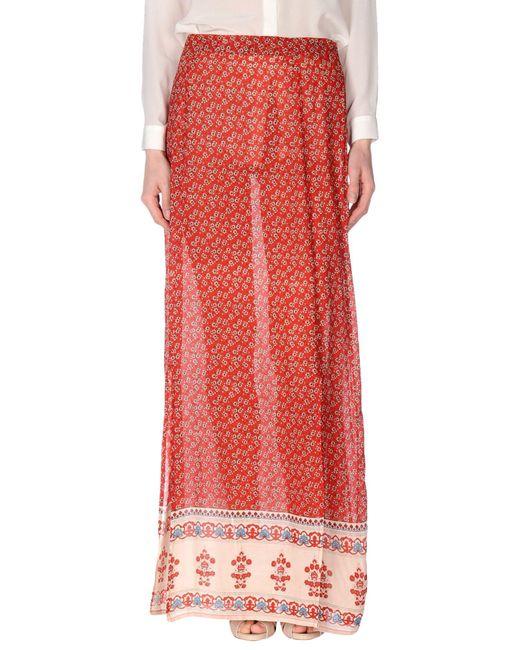 Glamorous | Red Long Skirt | Lyst