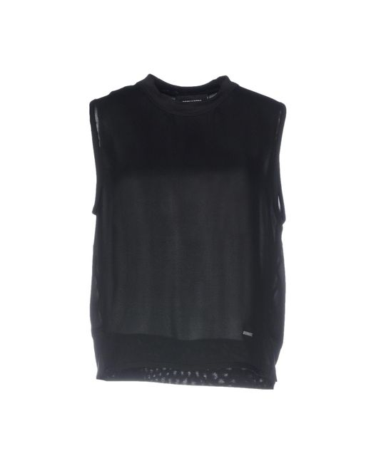 DSquared² - Black Top - Lyst