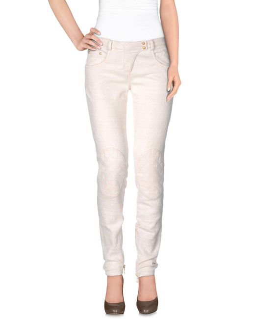 Balmain - Natural Casual Pants - Lyst