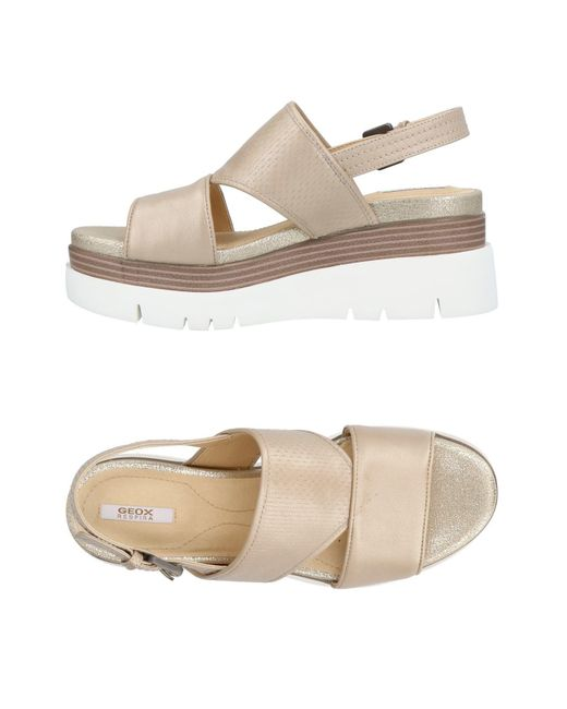 Geox - Natural Sandals - Lyst