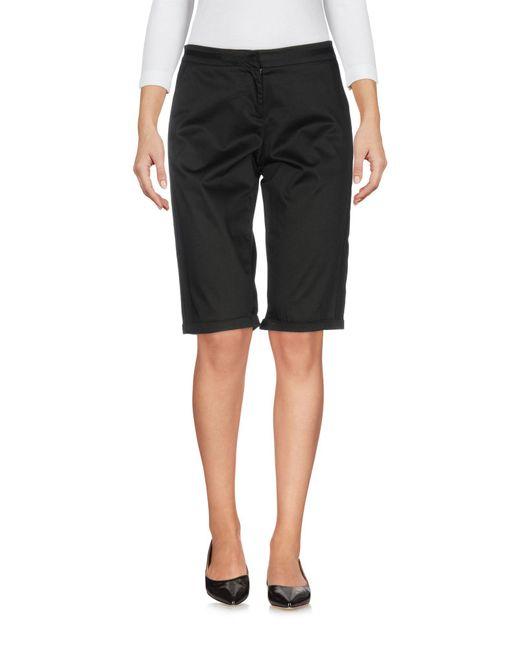 Ermanno Scervino - Black Bermuda Shorts - Lyst