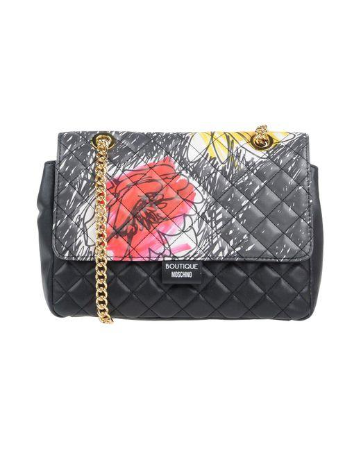 Boutique Moschino - Black Cross-body Bag - Lyst