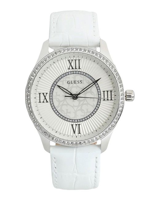 Guess - White Wrist Watches - Lyst