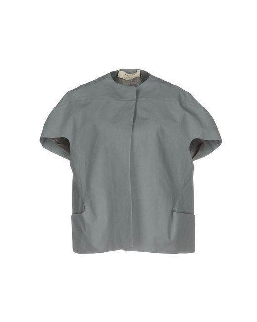 Marni - Gray Blazer - Lyst