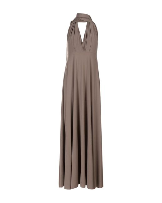 0feff06207 Von Vonni - Gray Long Dress - Lyst ...