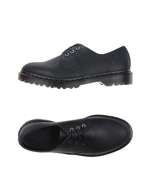 Dr. Martens - Black Lace-up Shoe - Lyst
