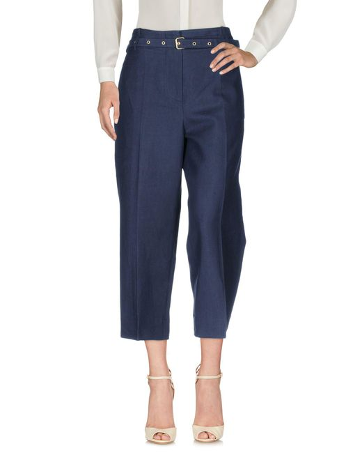 Jucca - Blue Casual Pants - Lyst