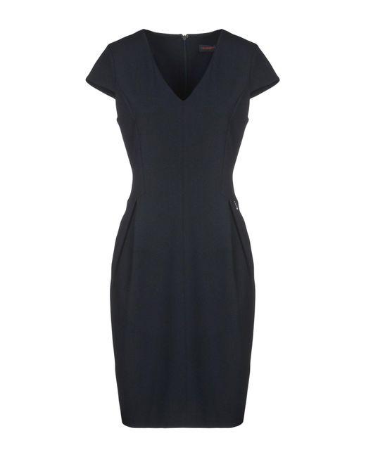 Trussardi - Blue Knee-length Dress - Lyst
