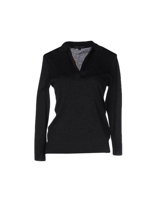 Ralph Lauren Black Label - Gray Jumper - Lyst