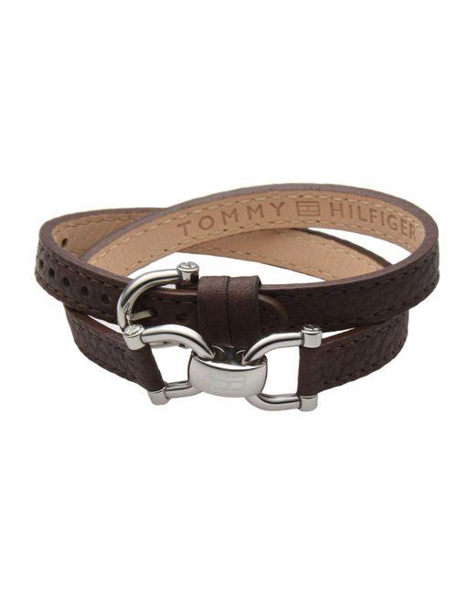 Tommy Hilfiger | Brown Bracelet | Lyst