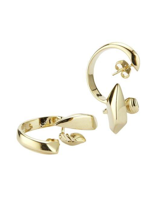 XENIA BOUS - Metallic Earrings - Lyst