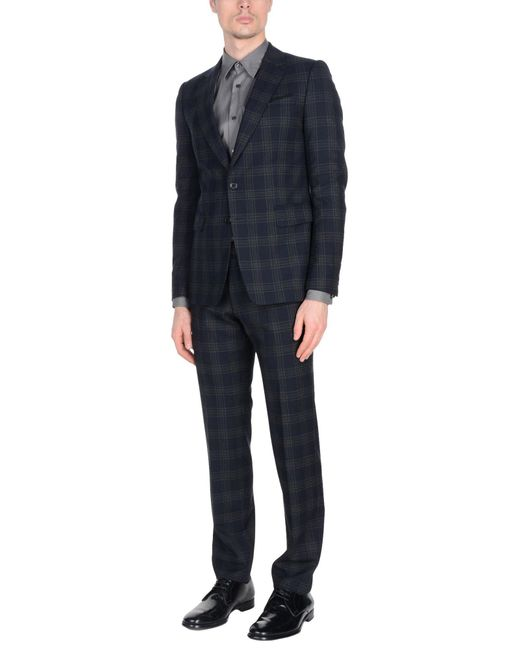 Dries Van Noten - Blue Suit for Men - Lyst