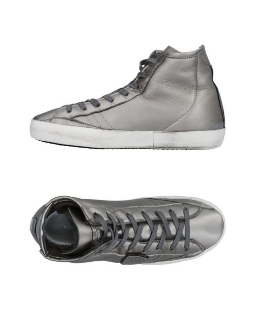 Philippe Model - Gray High-tops & Sneakers - Lyst