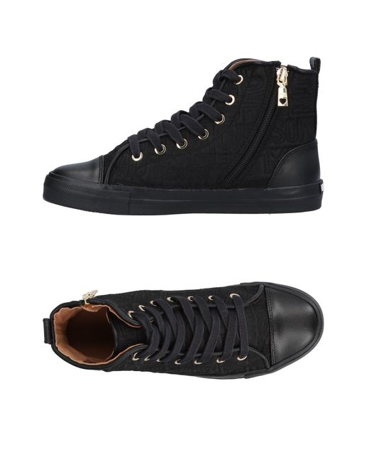 Love Moschino - Black High-tops & Sneakers - Lyst