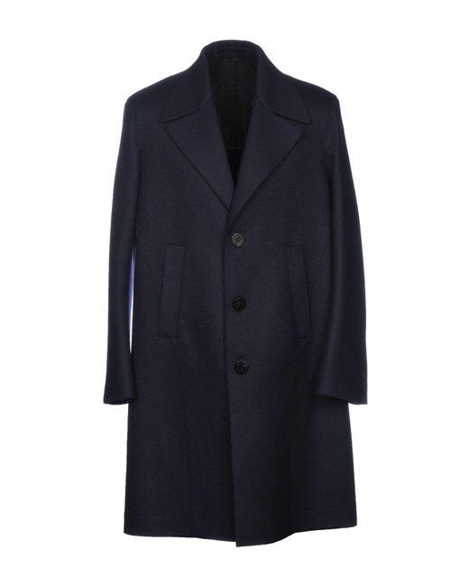 Neil Barrett - Blue Coat for Men - Lyst