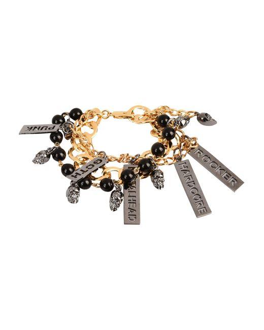 John Richmond - Black Bracelets - Lyst