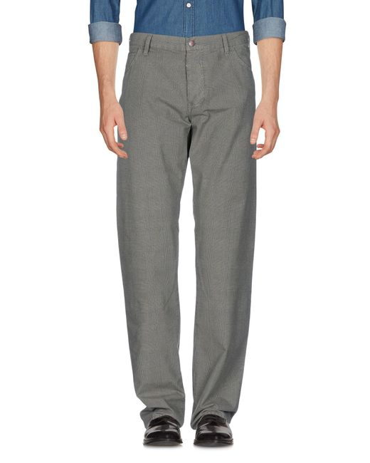 Armani Jeans | Gray Casual Pants for Men | Lyst