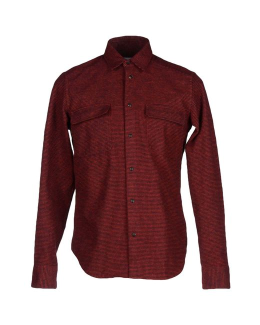 Mauro Grifoni - Red Shirts for Men - Lyst