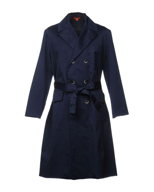 Barena - Blue Overcoat for Men - Lyst