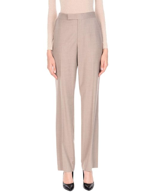 Ralph Lauren Collection - Natural Casual Trouser - Lyst