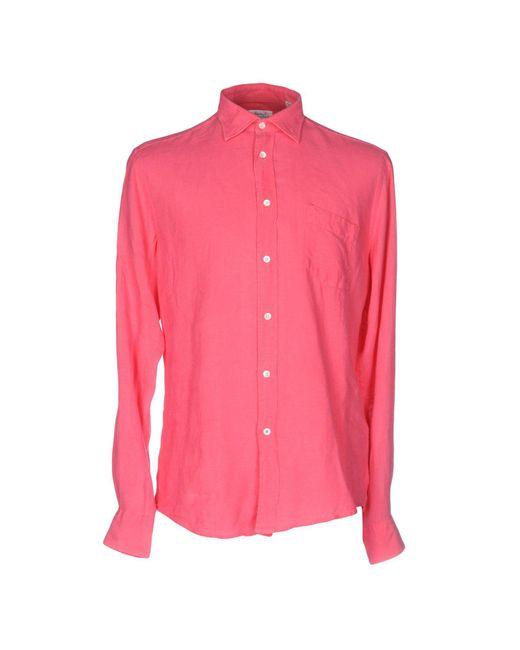 Hartford - Pink Shirt for Men - Lyst