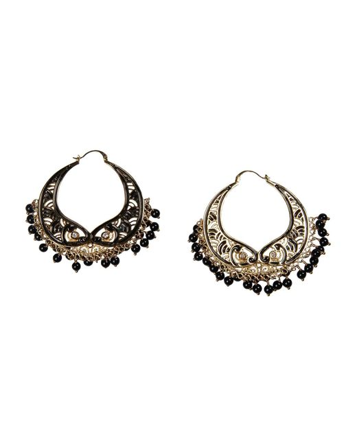 Isharya - Black Earrings - Lyst
