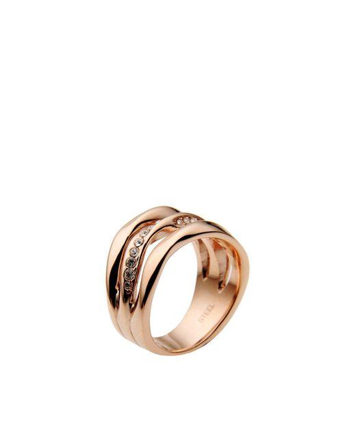 Fossil | Metallic Ring | Lyst