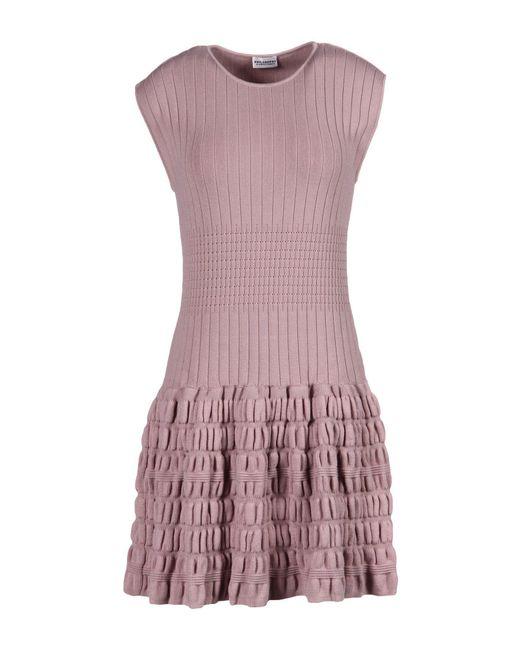 Philosophy di Alberta Ferretti - Pink Short Dress - Lyst