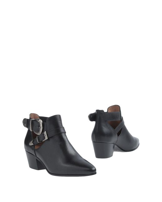 Twin Set - Black Ankle Boots - Lyst