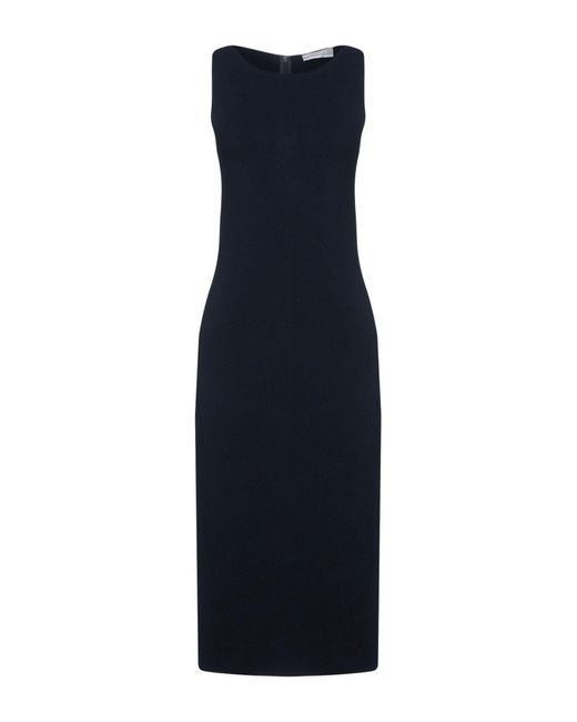 Stefanel - Blue Knee-length Dress - Lyst