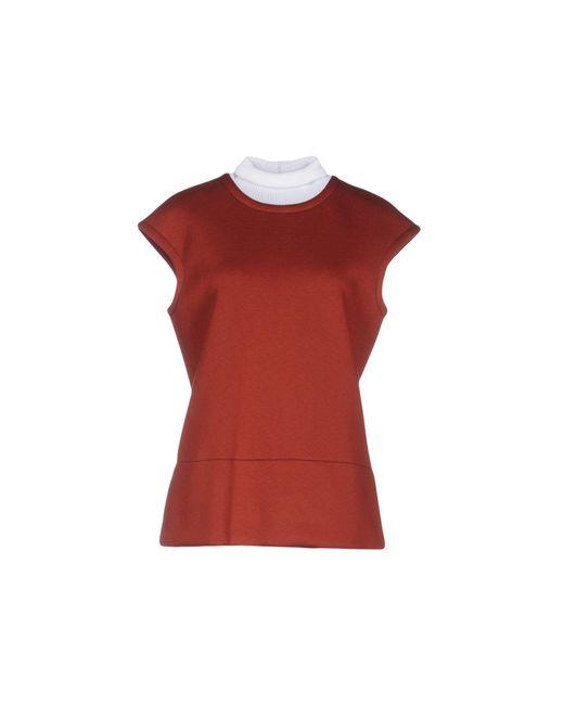 Marni | Red Sweatshirt | Lyst