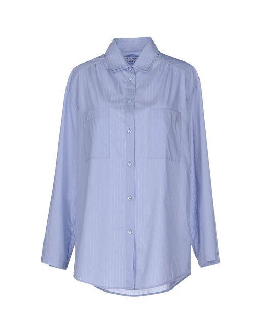 Maison Margiela - Blue Shirts - Lyst