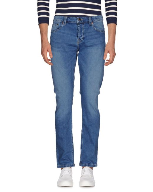Only & Sons - Blue Denim Trousers for Men - Lyst
