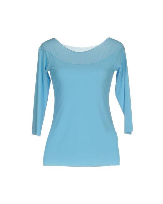 Almeria - Blue T-shirt - Lyst