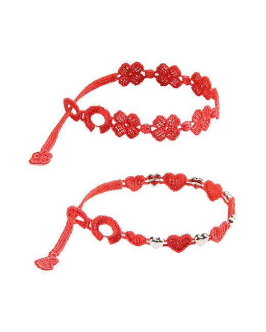 Cruciani | Red Bracelet | Lyst