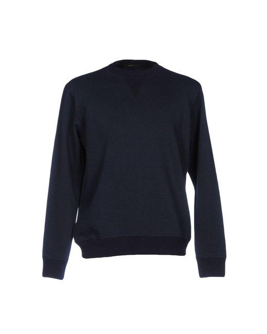 TRUE NYC - Blue Sweatshirt for Men - Lyst