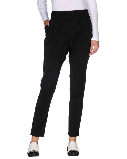 Shi 4 | Black Casual Trouser | Lyst