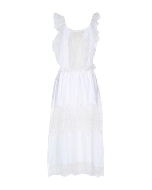 Anjuna - White Long Dress - Lyst