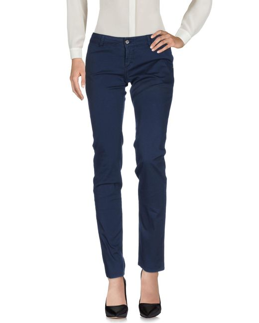 John Galliano | Blue Casual Pants | Lyst