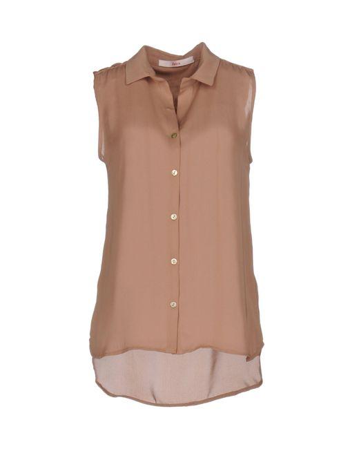 Jucca | Brown Shirt | Lyst