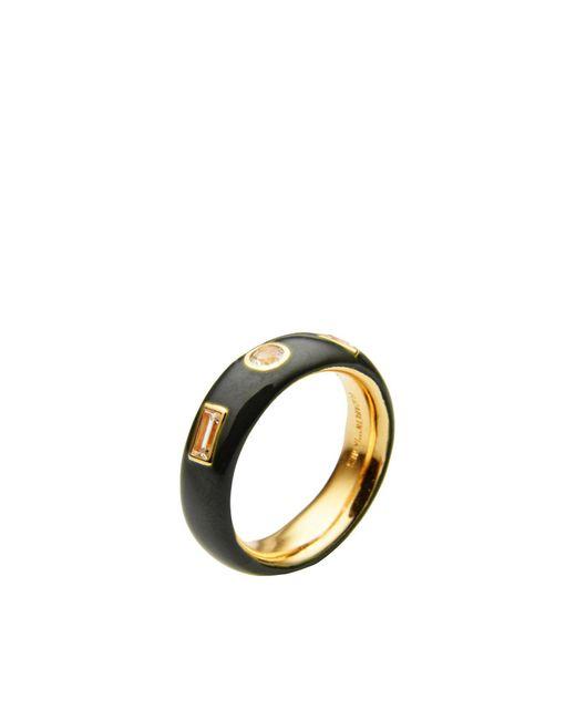 Elizabeth and James - Black Ring - Lyst