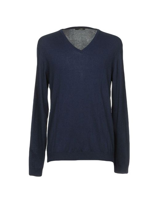 Roberto Collina - Blue Sweaters for Men - Lyst